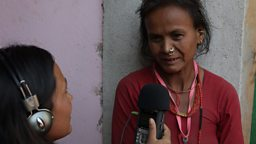Nepal: Reconstruction through radio