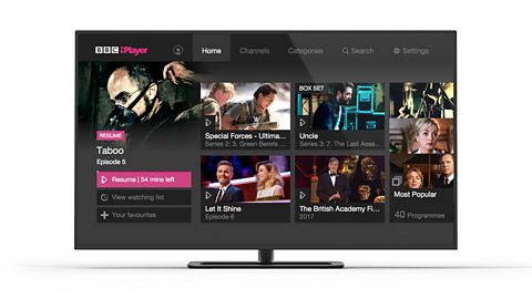 BBC iPlayer gets personal on connected TVs after a record-breaking start to 2017