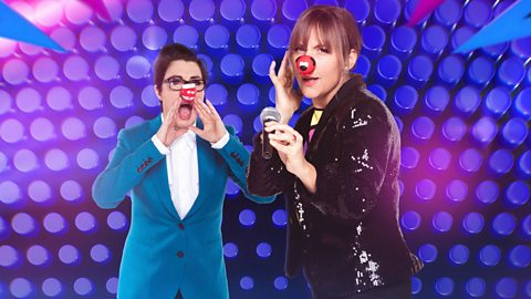 First look at Mel and Sue as hosts of brand new Let's Sing And Dance For Comic Relief on BBC One