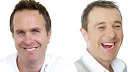 BBC Radio 5 live Sports Extra puts Tuffers, Vaughan and cricket-loving stars to the test in TMS anniversary match