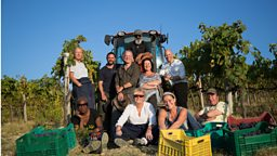 Say Ciao! to the cast of BBC Two's brand new documentary series Second Chance Summer: Tuscany