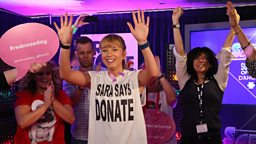 BBC Radio 2 Dj Sara Cox raises an incredible £1,071,264  for Red Nose Day