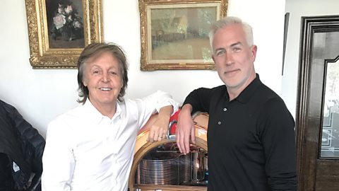 Sir Paul McCartney speaks exclusively to BBC Radio 6 Music