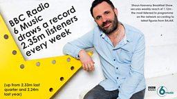 BBC Radio 6 Music breaks record reach as digital listening soars