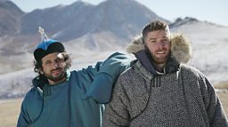 Rising stand-up comedians take on the World's Toughest Tribes in new six part series on BBC Earth