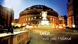 BBC Studios and BBC Music present Later 25 at the Royal Albert Hall on BBC Two