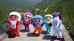 The Go Jetters Jet to China for Children's Day