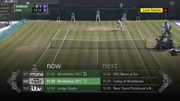 Game, set and restart match as BBC iPlayer introduces live restart from TV guide
