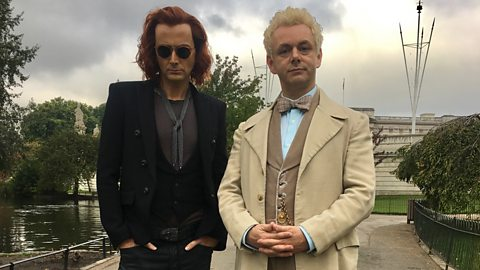 Filming begins on BBC Two and Amazon's Good Omens