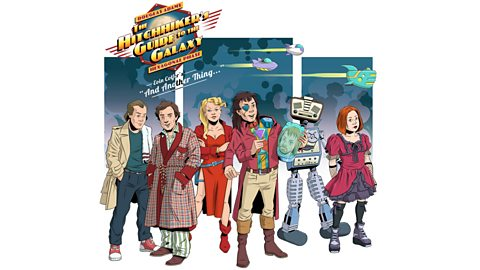 The Hitchhiker's Guide To The Galaxy to land back on Radio 4 in 2018 together with new series from Rob Grant and Andrew Marshall