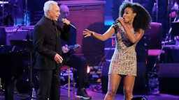 Sir Tom Jones and Beverley Knight share the stage for a night of Gospel Christmas music in Cardiff