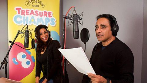 Sanjeev Bhaskar and Shobna Gulati announced as new treasures at CBeebies