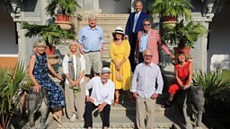 Nine new celebs check in to the Real Marigold Hotel for BBC One