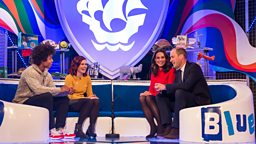 Duke and Duchess of Cambridge awarded a Gold Blue Peter Badge