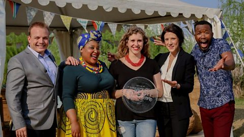 Bianca Breytenbach is crowned the winner of the Great South African Bake Off series 3