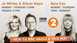 New voices join Radio 2 in 2018