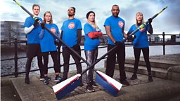 BBC and ITV stars go head-to-head on water for Sport Relief