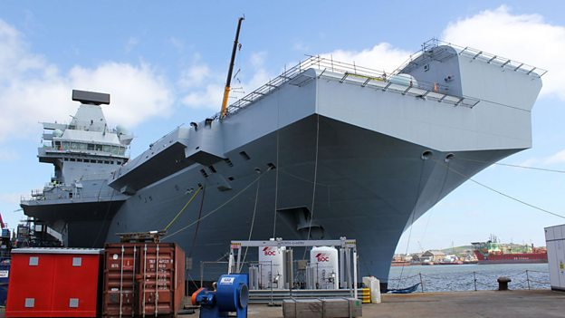 BBC - Britain's Biggest Warship - Media Centre