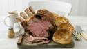 Classic roast beef dinner