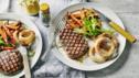 Valentines steak supper