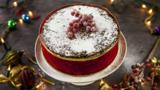Apricot and brandy Christmas cake
