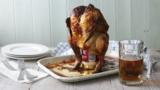 BBQ 'beer-can' chicken