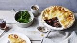 Beef and mustard pie