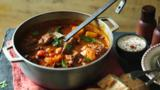 Beef goulash soup (Gulyas leves)