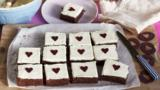 Beetroot and chocolate traybake