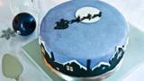 Last-minute Christmas cake