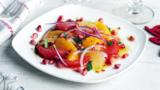 Citrus and pomegranate salad with chilli-honey dressing