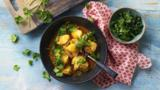 Clementine and cod curry