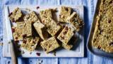 Cranberry and coconut energy bars