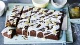 Ginger and treacle spiced traybake