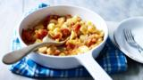 Spicy tomato sauce with gnocchi