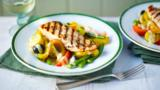 Grilled salmon Niçoise
