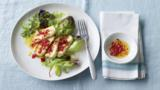 Halloumi with quick sweet chilli sauce