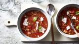 Italian lentil and tomato soup