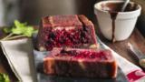 Madeira summer pudding with warm chocolate sauce