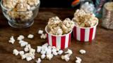 Popcorn espresso macchiato balls