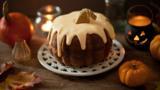 Pumpkin cider cake