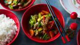 Sichuan pepper beef stir-fry