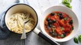 Smoky tomato sauce for pasta