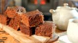 Spiced gingerbread pudding