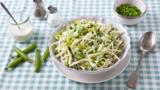 Summery green coleslaw