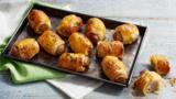 Totally lazy mini sausage rolls