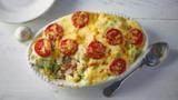 Tuna and broccoli pasta bake