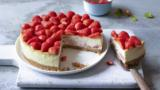 Vodka strawberry cheesecake