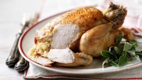 Easy roast chicken dinner