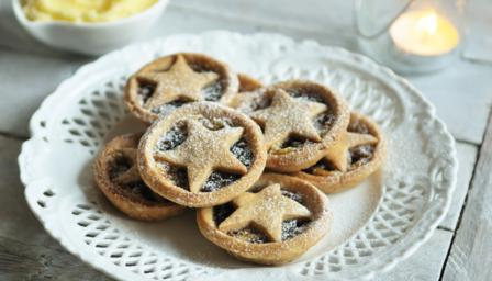 Almondy mince pies